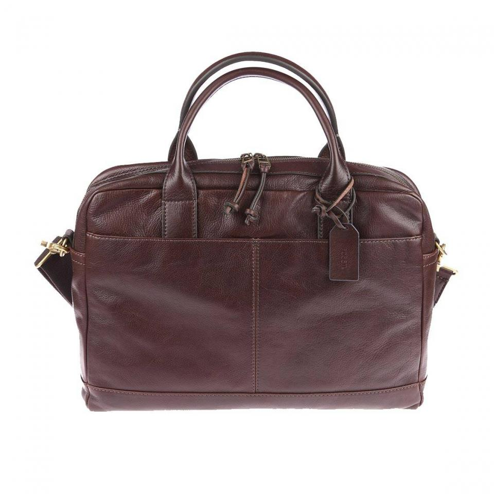 Fossil portefeuille foml3704 marron for Porte 15 bordeaux