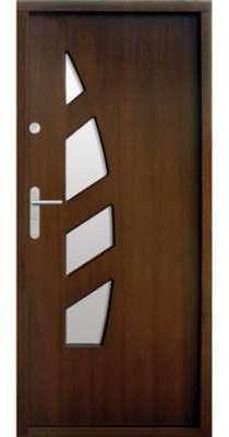 Porte d entrée en bois VINDANA