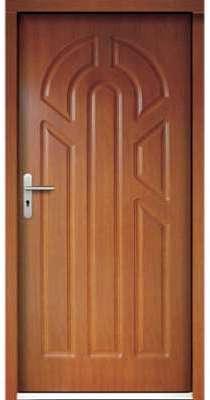 Porte d entrée en bois ELUSA