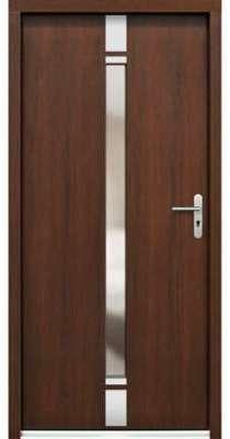 Porte d entrée en bois VINEA