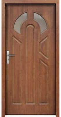 Porte d entrée en bois LACTORA
