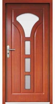 Porte d entrée en bois MOGADOR