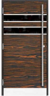 Porte d entrée en bois PERONAM104x212