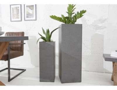Colonne pot design béton Ulrik