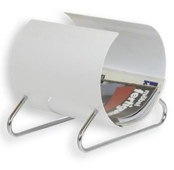 Porte-revues NEO laqué blanc