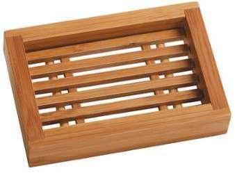 Porte savon en bambou rectanglePièce