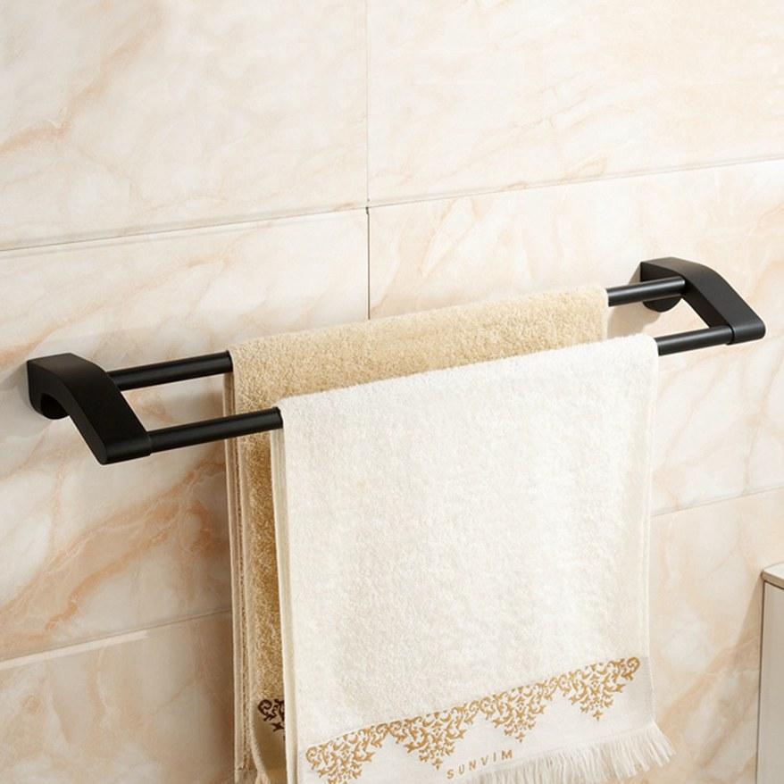 Porte serviette double 60x12