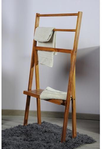 Porte serviettes en teck