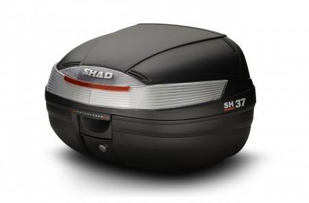 Top Case Shad SH37 Brut Noir