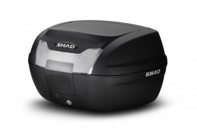 Top Case Shad SH40 Brut Noir