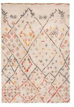 Tapis style berbère en laine