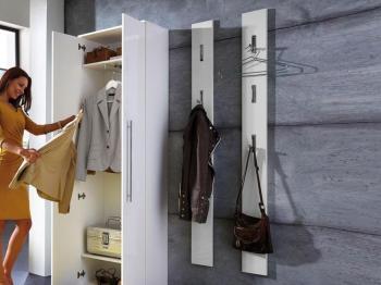 Porte-manteaux INES blanc