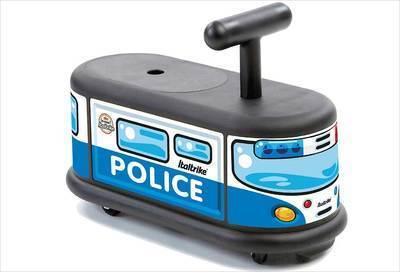 Porteur bébé voiture de police