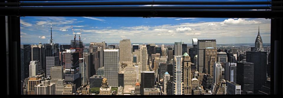 Affiche vue sur Midtown Manhattan