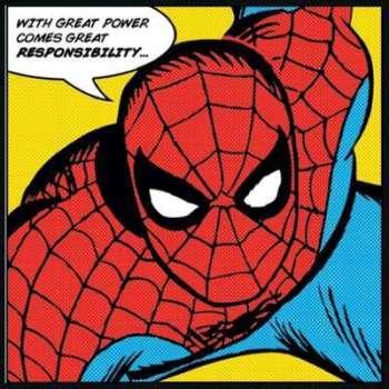 Tableau Portrait Spiderman