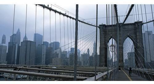Affiche pont de Brooklyn New