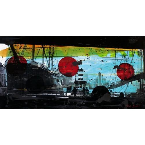 Affiche port de Manhattan