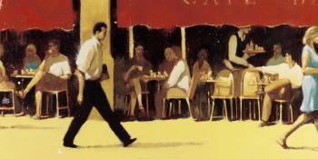 Affiche terrasse Café Bar