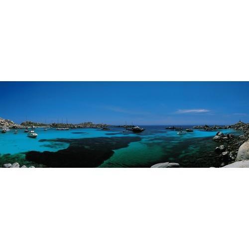 Affiche îles Lavezzi Corse