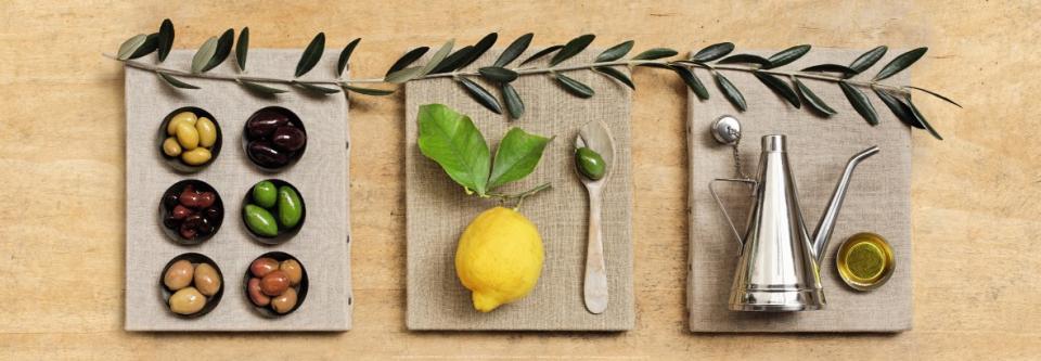 Affiche Huile d olive