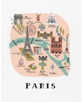 Affiche Paris Rifle Paper
