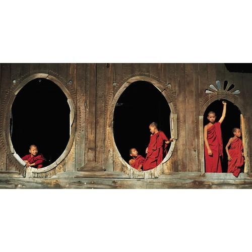 Affiche moine au monastère