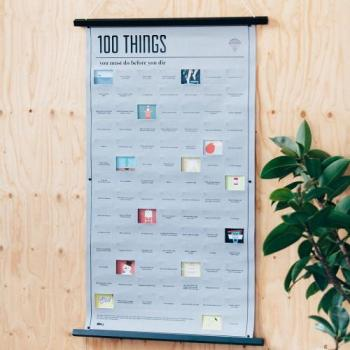 Poster 100 things que vous