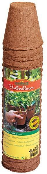 Lot de 24 pots ronds biodégradables