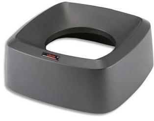 Couvercle entonnoir pour poubelle