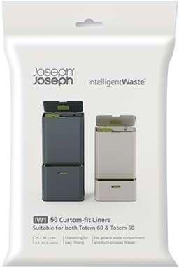 50 sacs poubelle 4L déchets