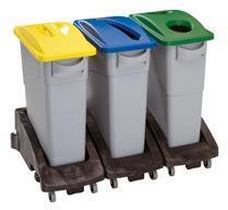 Poubelle à déchets 60 litres