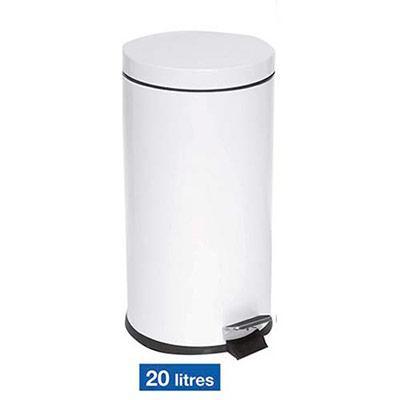 Seau plastique amovible lavable