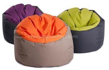 Pouf bicolore Jumbo Bag Bowly