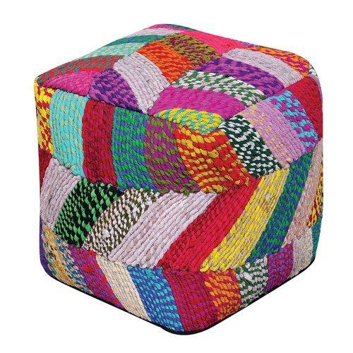 Pouf Jodhpuri Multicolore