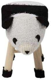 Tabouret design en bois tricot