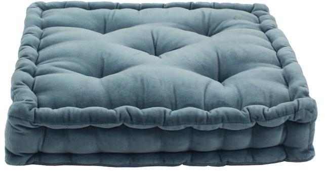 Pouf tapissier ARTHUR (40x40x8cm)
