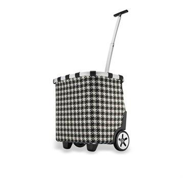 Shopping Trolley damier noir