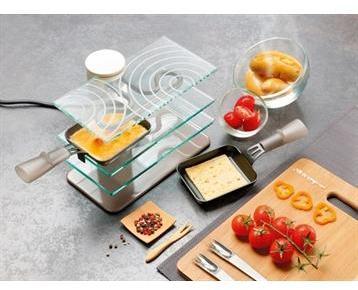 Appareil à raclette transparent