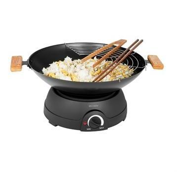 Set Wok et fondue électrique
