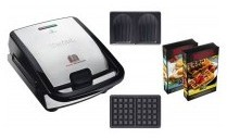 Croque gaufre tefal snack collection sw853d12 - Gaufrier tefal snack collection ...