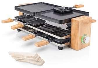 Appareil à raclette en bambou