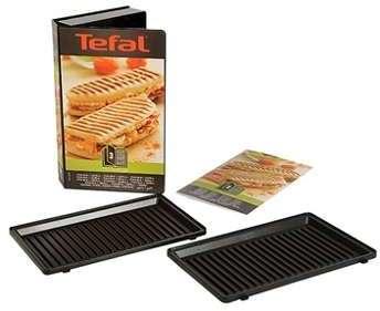 Coffret 2 plaques grill panini