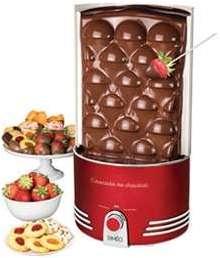 Cascade de chocolat Rétro