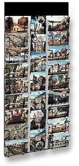 Présentoir mural pour cartes