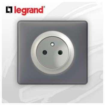 Prise 2P T complete Legrand