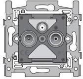 Mécanisme prise tv-fm-sat