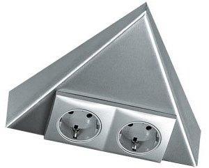 Hera Triangle bloc 2 prises