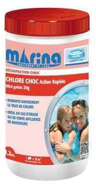 Chlore choc action rapide