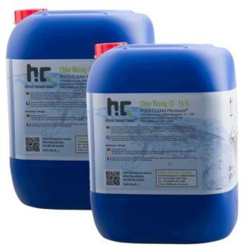 Chlore liquide 48 2 x 25 kg