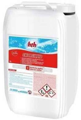 HTH Chlore liquide 20L Quantité